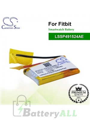 CS-FTS100SH For FitBit Smartwatch Battery Model LSSP491524AE