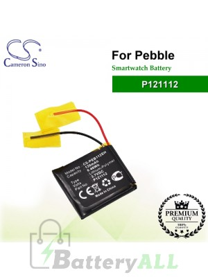 CS-PEB112SH For Pebble Smartwatch Battery Model P121112
