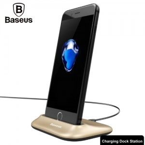 Baseus Little Volcano 2.4A Desktop Charging Station Dock Charger with 1.2m Line IP7P2118J
