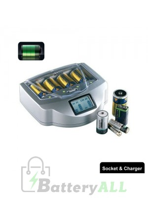 Universal and Intelligent Alkaline Battery Charger RC999 with Certificated Adaptor S-LIB-0019