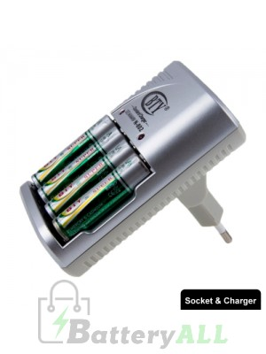 BTY-802B 100V-240V Battery Charger for AA / AAA / 9V / Ni-MH / Ni-Cd Battery S-TC-0214