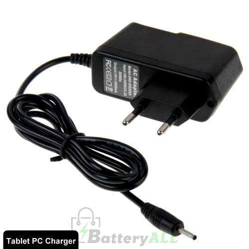 DC 2.5mm Jack AC Travel Charger for Tablet PC Output DC 5V / 2A EU Plug S-TC-2330A