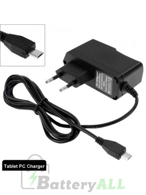 Micro USB Charger for Tablet PC / Mobile Phone Output DC 5V / 2A EU Plug S-WMCS-1534