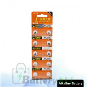 10 PCS AG0 / 379A 1.55V Alkaline Button Battery S-LIB-0301