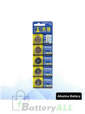 5 PCS CR2032 3V Lithium Button Battery S-LIB-0309