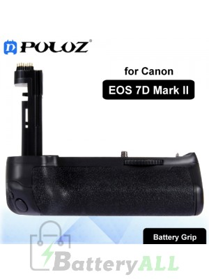 PULUZ Vertical Camera Battery Grip for Canon EOS 7D Mark II Digital SLR Camera PU2509