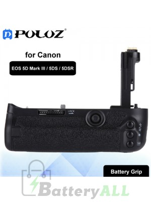 PULUZ Vertical Camera Battery Grip for Canon EOS 5D Mark III / 5DS / 5DSR Digital SLR Camera PU2514