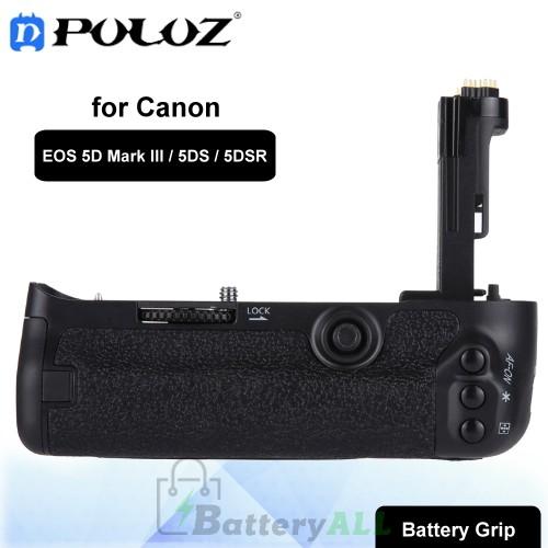 PULUZ Vertical Camera Battery Grip for Canon EOS 5D Mark III / 5DS / 5DSR Digital SLR Camera PU2514