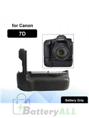 Camera Battery Grip for Canon 7D with Two Battery Holder S-DBG-0110