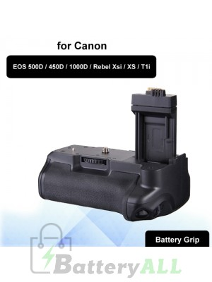 BG-1A Camera Battery Grip for Canon EOS 500D / 450D / 1000D / Rebel Xsi / XS / T1i S-DBG-0129