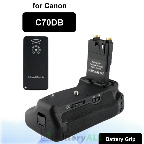 Professional Creates Beautiful Moment Vertical Camera Battery Grip with Infrared Remote for Canon C70DB S-DBG-0133