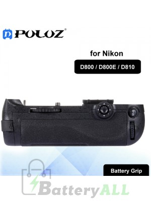 PULUZ Vertical Camera Battery Grip for Nikon D800 / D800E / D810 Digital SLR Camera PU2501