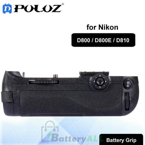PULUZ Vertical Camera Battery Grip for Nikon D800 / D800E / D810 Digital SLR Camera PU2501