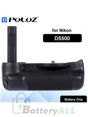 PULUZ Vertical Camera Battery Grip for Nikon D5500 Digital SLR Camera PU2502