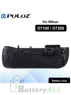 PULUZ Vertical Camera Battery Grip for Nikon D7100 / D7200 Digital SLR Camera PU2503