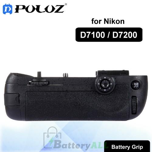 PULUZ Vertical Camera Battery Grip for Nikon D7100 / D7200 Digital SLR Camera PU2503