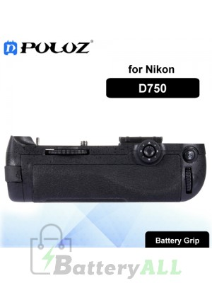 PULUZ Vertical Camera Battery Grip for Nikon D750 Digital SLR Camera PU2504