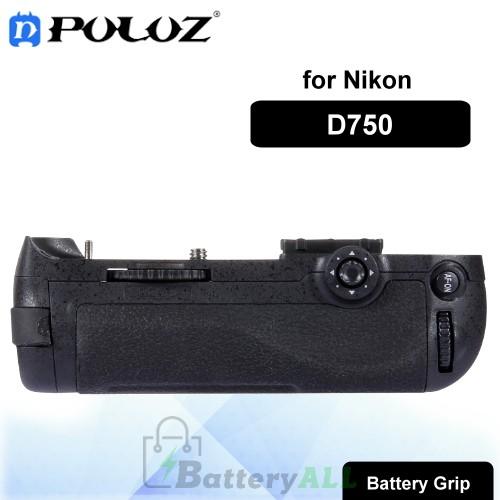 PULUZ Vertical Camera Battery Grip for Nikon D750 Digital SLR Camera PU2504