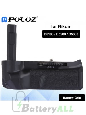 PULUZ Vertical Camera Battery Grip for Nikon D5100 / D5200 / D5300 Digital SLR Camera PU2513