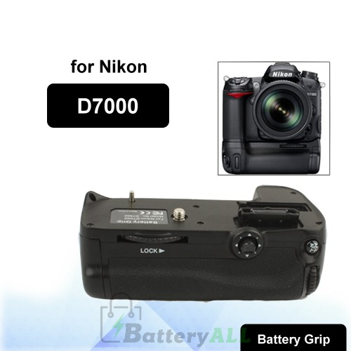 Camera Battery Grip for Nikon D7000 with Two Battery Holder S-DBG-0112