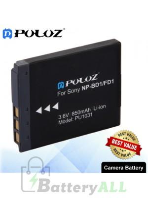 PULUZ NP-BD1 / NP-FD1 3.6V 850mAh Camera Battery for Sony Cyber-shot DSC-G3 / DSC-T75 / DSC-T77 / DSC-T500 / DSC-T700 PU1031