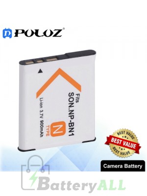 PULUZ NP-BN1 3.7V 900mAh Camera Battery for Sony DSC-W390 / DSC-W380 / DSC-W370 PU1033