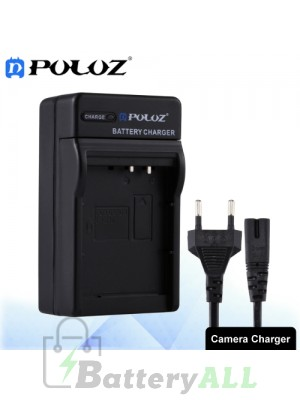 PULUZ Camera Battery Charger with Cable for Canon LP-E10 Battery PU2210