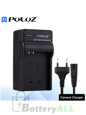 PULUZ Camera Battery Charger with Cable for Canon NB-4L / NB-8L Battery PU2223
