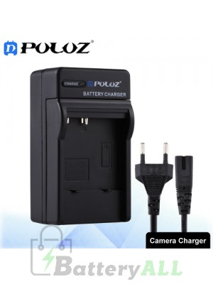 PULUZ Camera Battery Charger with Cable for CASIO CNP40 Battery PU2220
