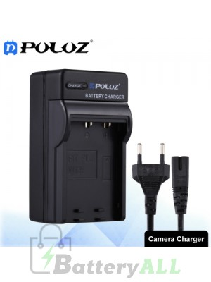 PULUZ Camera Battery Charger with Cable for Fujifilm NP-W126 Battery PU2216