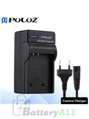 PULUZ Camera Battery Charger with Cable for Fujifilm NP-70 / Panasonic DB-60 (S005) Battery PU2229