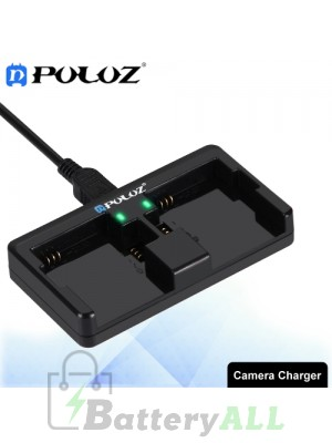 PULUZ 2-channel Charger for GoPro HERO4 /3+ /3 - AHDBT-301/201 / AHDBT-401 PU132