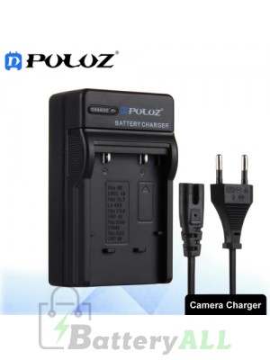 PULUZ EU Plug Battery Charger for Nikon EN-EL10 / Olympus LI-40B / FUJI FNP-45 / Kodak K7006 / CASIO CNP80 Battery PU2201