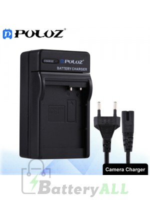 PULUZ Camera Battery Charger with Cable for Panasonic DMW-BLC12 Battery PU2217