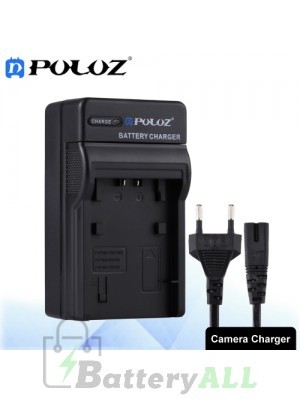 PULUZ Camera Battery Charger with Cable for Sony NP-FH50 / NP-FH70 / NP-FH100 / NP-FP50 / NP-FP70 / NP-FP90 / NP-FV50 / NP-FV70 / NP-FV90 Battery PU2219