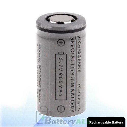 ICR 18350 900mAh 3.7V Rechargeable Li-ion Battery for E-cigarette S-LIB-0020