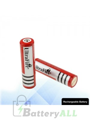 2 PCS UltraFire 18650 3000mAh Long Lasting Rechargeable Lithium ion Battery with Circuit Protection S-LIB-0218