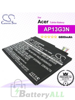 CS-ACW300SL For Acer Tablet Battery Model AP13G3N