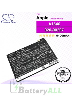 CS-IPA155SL For Apple iPad Tablet Battery Model 020-00297 / A1546