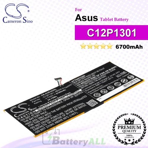 CS-AUE302SL For Asus Tablet Battery Model 0B200-01580000 / C12P1301