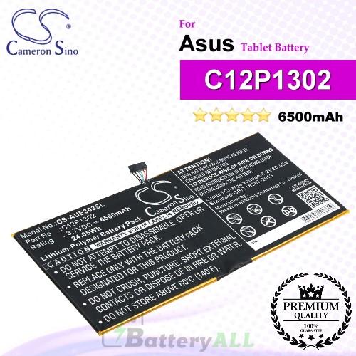 CS-AUE303SL For Asus Tablet Battery Model C12P1302