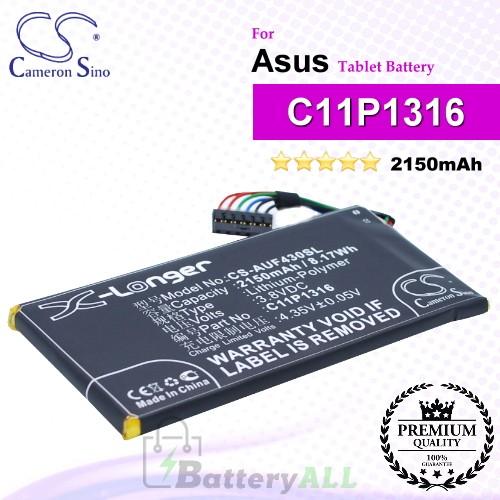 CS-AUF430SL For Asus Tablet Battery Model C11P1316