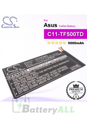 CS-AUF500SL For Asus Tablet Battery Model C11-TF500TD
