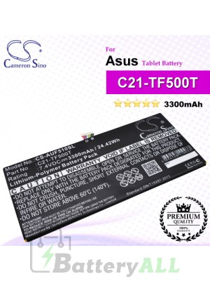 CS-AUF510SL For Asus Tablet Battery Model C21-TF500T