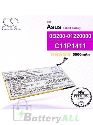 CS-AUM103SL For Asus Tablet Battery Model 0B200-01220000 / C11P1411