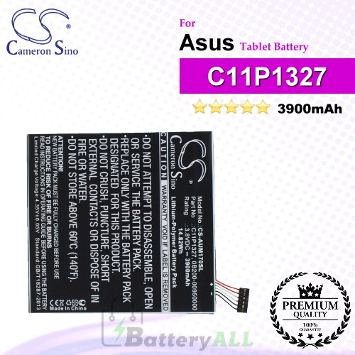 CS-AUM170SL For Asus Tablet Battery Model 0B200-00950000 / C11P1327
