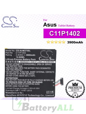 CS-AUM375SL For Asus Tablet Battery Model C11P1402