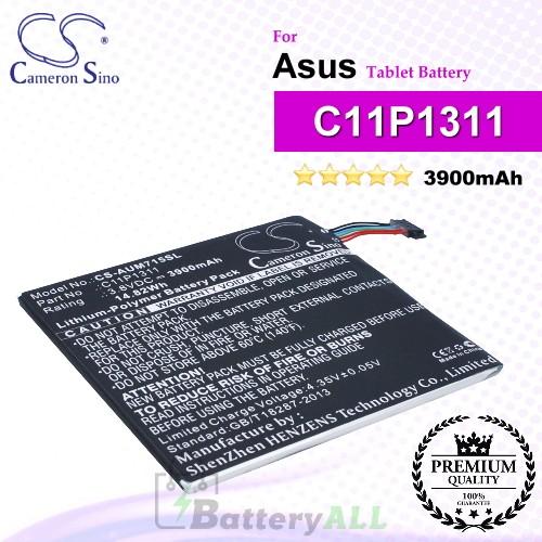CS-AUM715SL For Asus Tablet Battery Model C11P1311