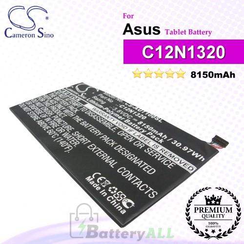 CS-AUT100SL For Asus Tablet Battery Model 0B200-00720300 / C12N1320