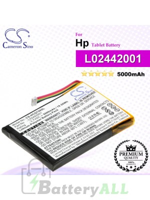 CS-HCQ720SL For HP Tablet Battery Model L02442001